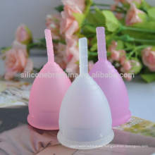 Taza menstrual de alta calidad de la taza menstrual 100% del silicón de la taza menstrual