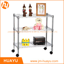 3 - Shelf Metal Shelf Metal Shelving Rack Storage Rack