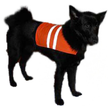 Dog vest running reflective safety vest