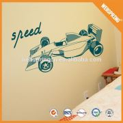 2015 hot new products cycle racing natural innocuous wall sticker in building coating