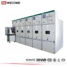 KYN28 12kV MV KEMA probado Metal incluido tablero de distribución de fase 3