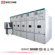 Comutação KYN28 12kV MV KEMA testou a placa de distribuição do Metal fechado fase 3