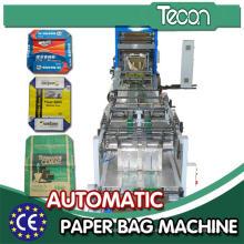 Línea de producción automática del bolso de papel del cemento del control (ZT9802S y HD4913B)