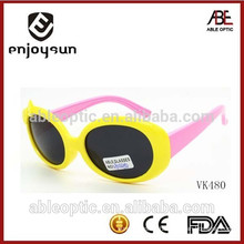 promotion novelty kids sunglasses with bowknot decoration