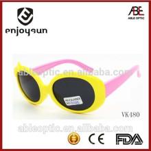 Novidades de promoção óculos de sol para crianças com decoração de bowknot