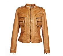 cheap faux leather jacket for women wholesale Haining leather jacket