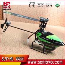 flybarless Small 2.4G rc helicopter V955 4ch flybarless helicopter rtf with camera
