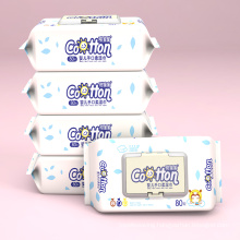 Natural Soft 100% Cotton Baby Wipes