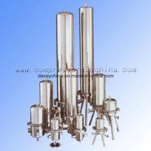 Filtração de alta eficiência para ar comprimido limpo e sem óleo