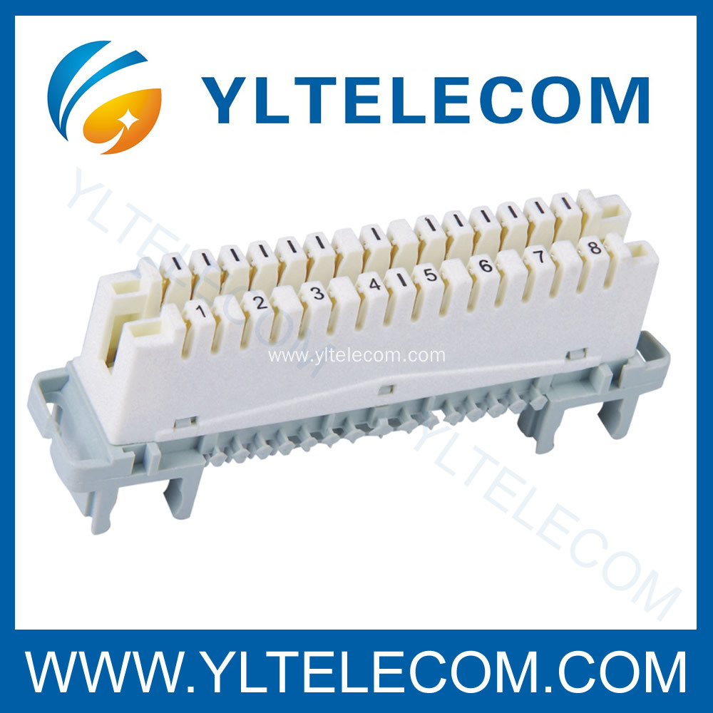 Krone LSA Connection And Disconnection Module 8 Pair Profile Type