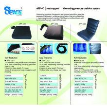 APPalternating medizinisches Kissen mit Pumpe C01 Wechselaufblasendes Rollstuhlkissen mit Pumpe