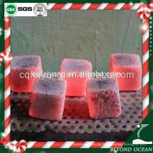 2017 quadratische form coconut shisha holzkohle für nargileh / weihrauch