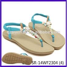SR-14WF2304 (4) sandales femme sandales chaussures sandales plates sandales plates