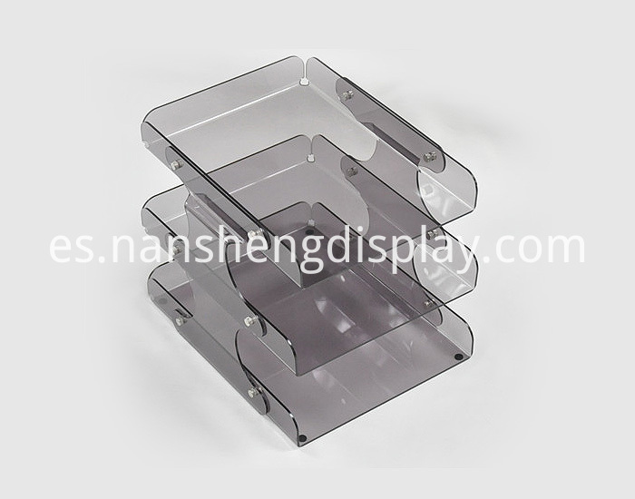 Acrylic Pen Case Storage