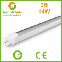 T8 6500k 20W 4FT lâmpadas de tubo de LED com Ws2812b Strip
