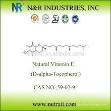 Vitamine E naturel D-alpha Tocopherol 1000IU
