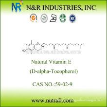 Natural Vitamin E D-alpha Tocopherol 1400IU (93%)