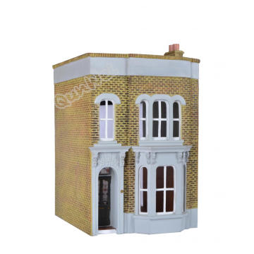 Best Quality for Resin Poly Dollhouse 1/12 scale Vintage style Resin dollhouse export to Spain Factory