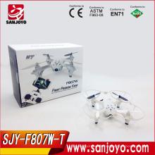 Transporte en tiempo real al por mayor del drone 2015 con el quadcopter de la cámara del hd contra el abejón del rc hubsan H107D fpv hecho en China