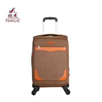 نسيج للأزياء 210D بطانة EVA Soft Luggage Set