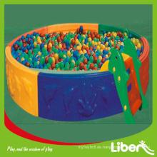 Kinder Indoor Amusement Spielplatz der Soft Ball Pit mit Ex-Arbeiten LE.QC.001