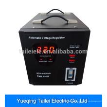 AVR 8KW relé tipo casa regulador de tensão com LED display digital