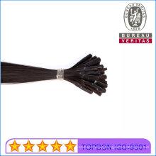 Top Quality 12A Grade 100% Human Virgin Hair Stick Flat Tip Hair Extension Remy Hair