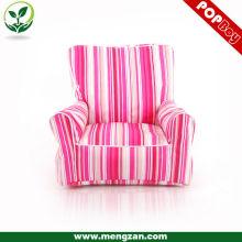 Chaise de sac de haricot pour enfants, chaises de sac de haricots roses