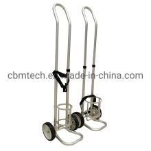 Carts for Oxygen Cylinder/Cylinder Carts Single Tank Holder