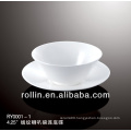 Best welcome wedding rental lines decoration ceramic bowl with saucer