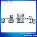 Línea de producción de máquina de lavado, llenado y tapado de botellas