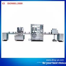 Fertigungslinie der Flaschenwasch-, Füll- und Verschließmaschine