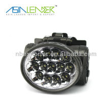 Durable 13LED rechargeable head torch