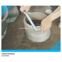 Asme Seamless Eccentric Reducer Acoplamiento de tubería de acero al carbono