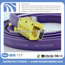 1.5M NEUES FLAT HDMI Kabel 1.3v für PS3 HDTV 1080