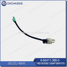 Interruptor de lámpara inversa NHR / NKR genuino 8-94411-366-0