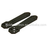 Fabricante del abejón, hoja de la fibra de carbono del Twill / Plain Matte / Glossy 3K, piezas del CNC