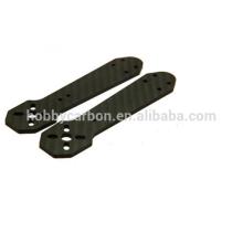 Fabricant de drone, 3K Sergé / Plaine Mat / Brillant Plaque de fibre de carbone, Pièces CNC