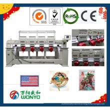 Wonyo computadorizado máquina de bordar Mutil-Head 4 cabeças bordado tampão (wy904c / 1204c)