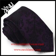 Handgemachte hohe Qualität Seide Jacquard Woven Mens Floral Krawatten