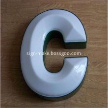 Outdoor Vacuum Formed LED Light Box Signs