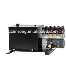 Hydraulic working station for car carrier