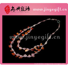 Ruby Agate Handmade Design Necklace Jewelers