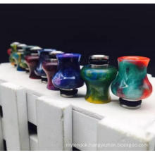 Can OEM Logo Factory Price 510 Resin+Ss Drip Tip
