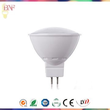 Foco LED de plástico MR16 con Gx5.3