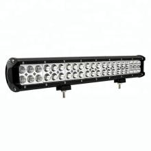 Venta al por mayor 20 pulgadas impermeable 126w spot spot 4x4 doble fila de trabajo offroad led light bar