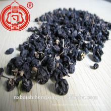 Der gesunde schwarze Goji-Beeren-Frucht-Grad zwei