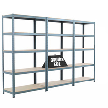 Factory Price Customized Shelf Angle Steel Light Duty Industrial Warehouse Storage Rack