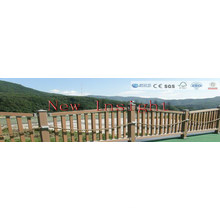 Wood Plastic Composite Fencing with SGS, Fsc, CE Certificate