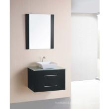 Hot Sale Wall Mounted Wooden Veener Gabinete de banheiro